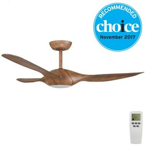 origin ceiling fan with light Koa