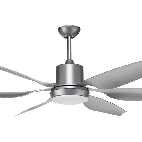 aviator ceiling fan silver
