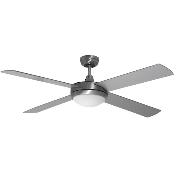 brushed aluminium urban ceiling fan-min