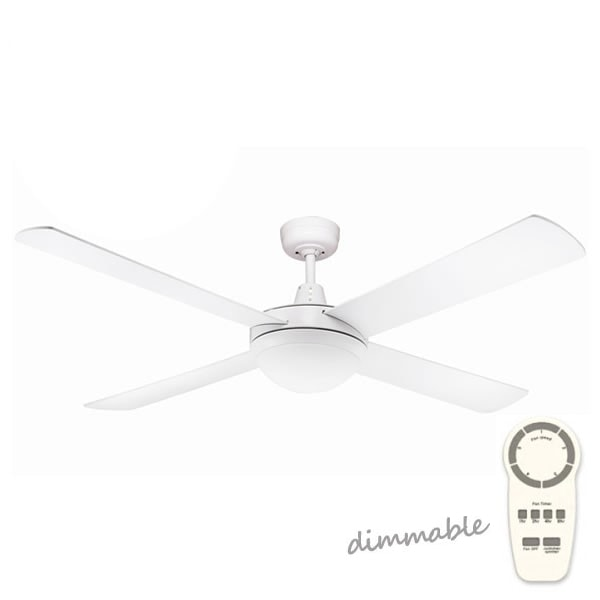 Fanco Urban 2 Dc Ceiling Fan With Dimmable Led Light