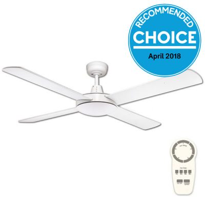Dc ceiling fans vs ac which ceiling fan is best fanco urban 2 dc ceiling fan with remote white 52 aloadofball Images