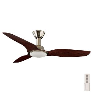 "trident 56"" ceiling fan walnut"