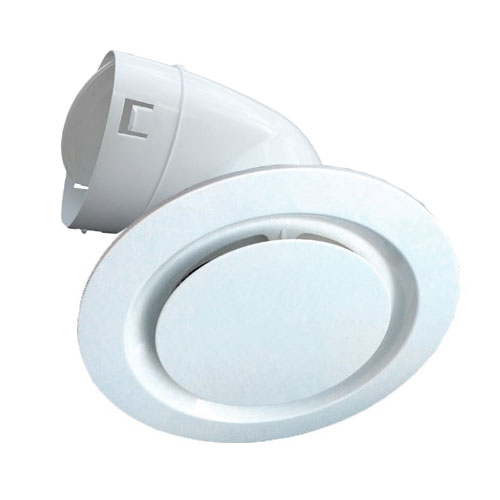 Round Modular Vent with Duct Adaptor - 150mm - Universal Fans