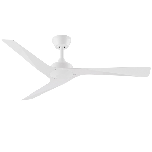White modn 3 ceiling fan by three sixty