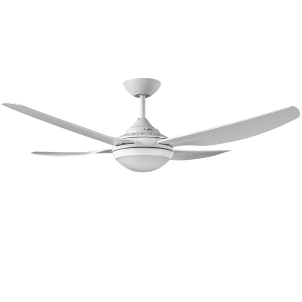 Ventair Royale Ii White Ceiling Fan With Light 52