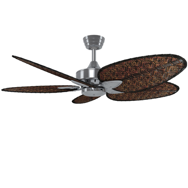 Windpointe V2 Ceiling Fan Brushed Nickel Amp Bamboo 52