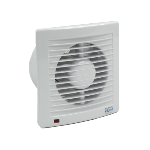 Elicent E Style 100 Ceiling Wall Exhaust Fan White