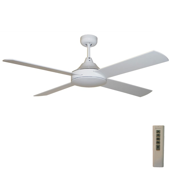 Milano Dc Ceiling Fan With Remote White 52 Quot