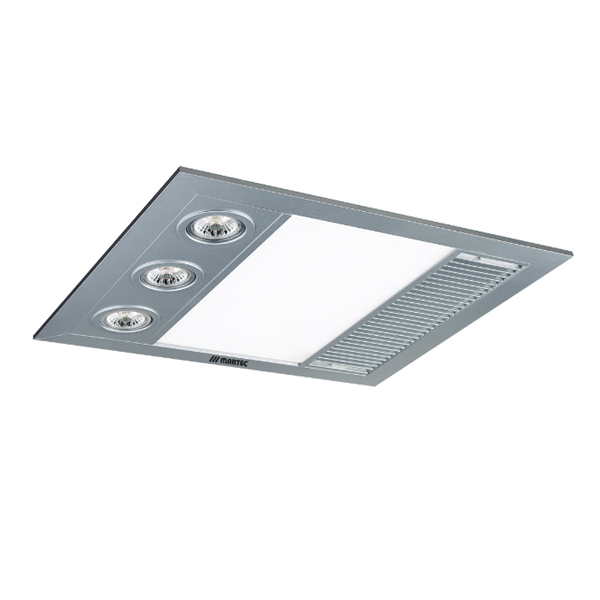 Martec Linear Mini Exhaust Fan Silver Universal Fans