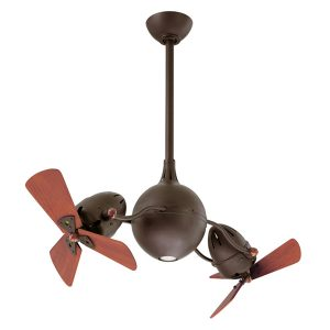 Textured Bronze Atlas Aqua ceiling fan