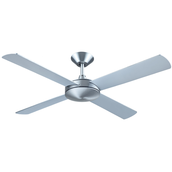 Brushed Aluminium Intercept 2 Ceiling fan