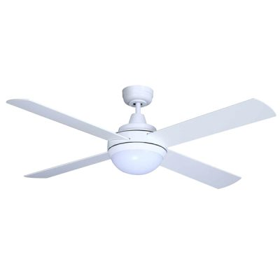 Mercator grange dc with remote white 52 universal fans mercator grange dc ceiling fan with led light remote white 52 mozeypictures Choice Image