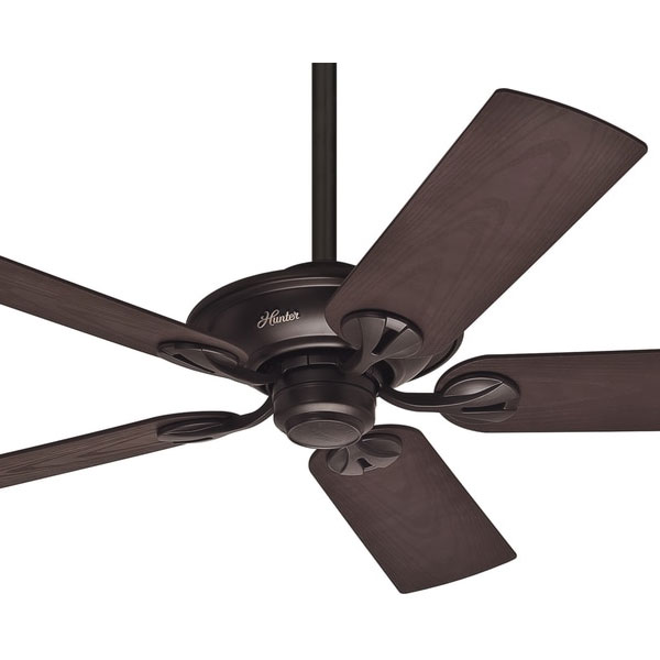 Hunter Fan Company Builder Great Room New Bronze Ceiling: Hunter Maribel Ceiling Fan - New Bronze 52""