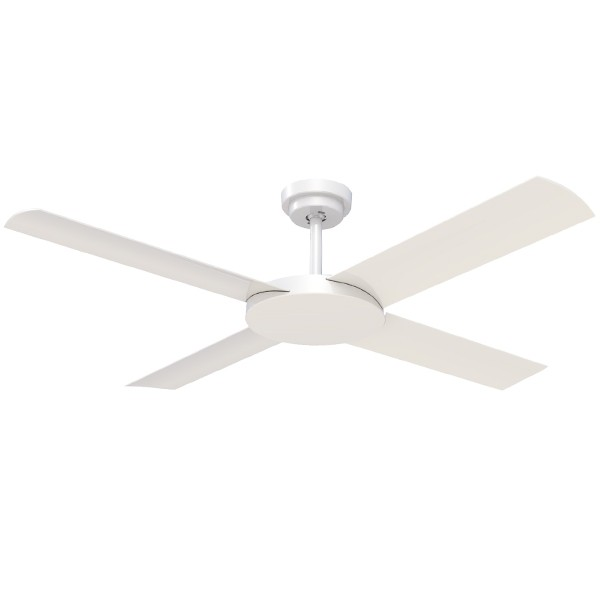 Hunter Pacific Revolution 3 Ceiling Fan White 52