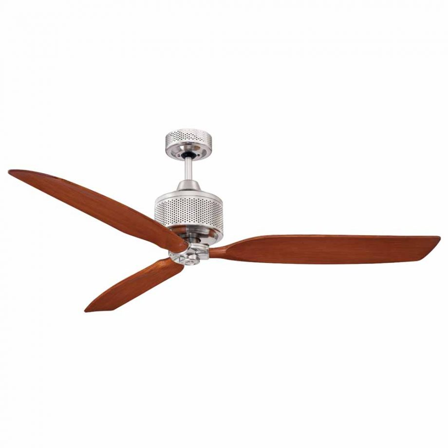 Mercator savannah ceiling fan brushed chrome 52 universal fans home ceiling mozeypictures Choice Image