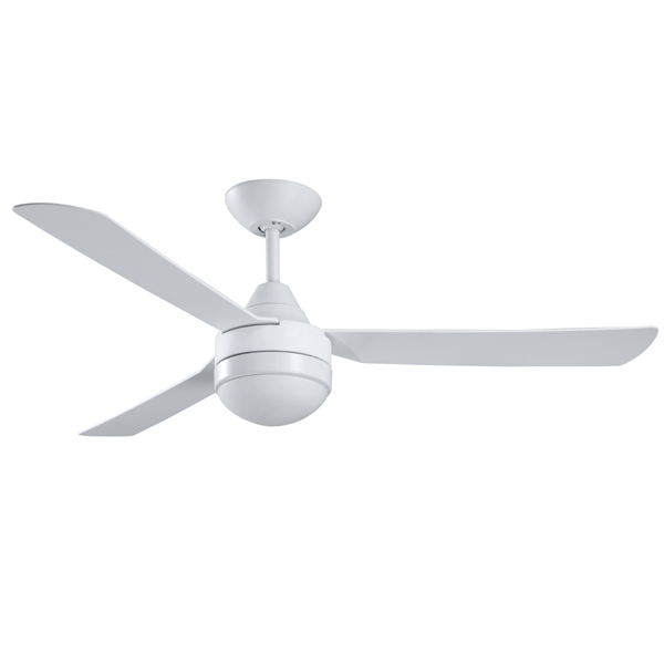 Ventair manzer ll ceiling fan with light white