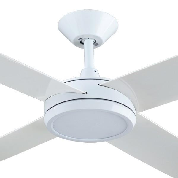 Roof Lighting Concept In Basic Form: Concept 3 Ceiling Fan With LED Light