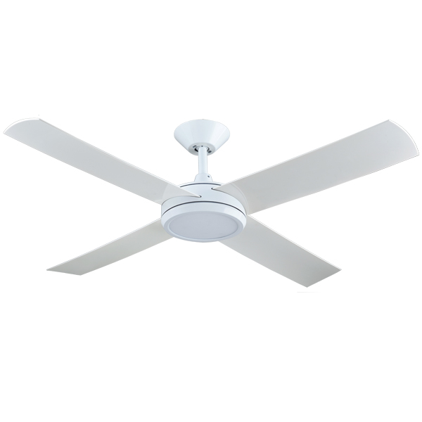white concept 3 ceiling fan with light