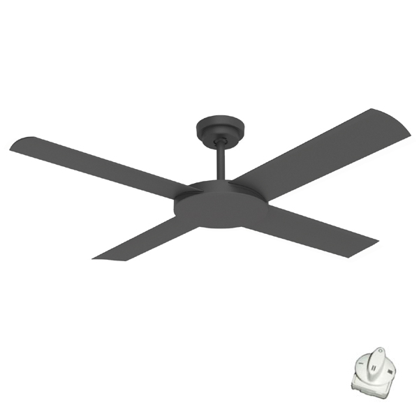 Black revolution 3 ceiling fan