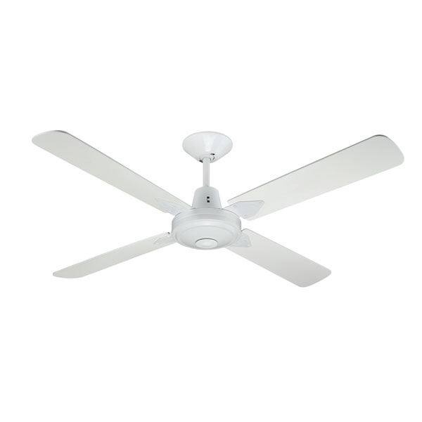Hunter Pacific Typhoon Ceiling Fan White Timber 48