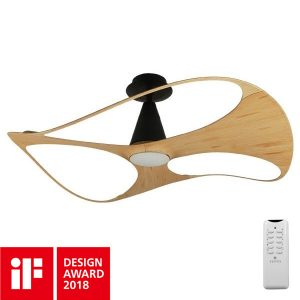 swish ceiling fan 48 inch bamboo blades