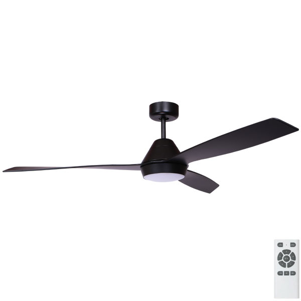 black eco breeze ceiling fan