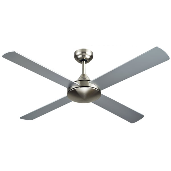 Brushed Nickel Azure Ceiling Fan 48 inch