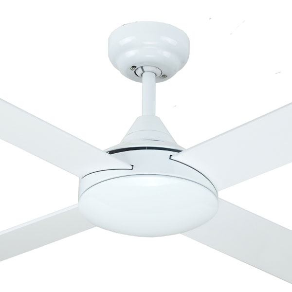 white azure ceiling fan