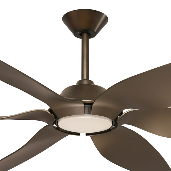 mornington ceiling fan bronze with light