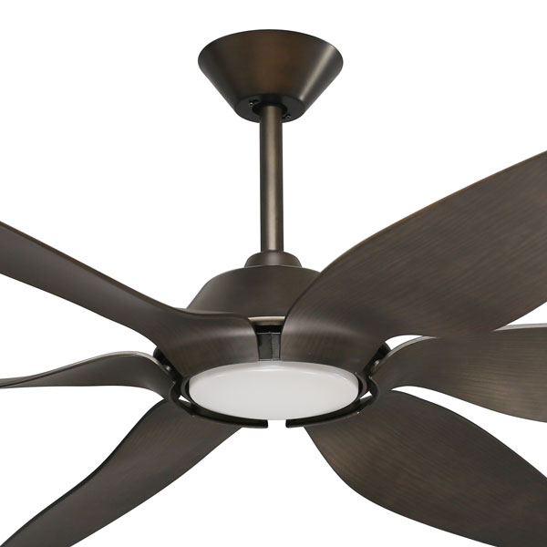 mornington ceiling fan with light timber