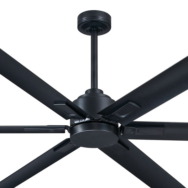 graphite rhino ceiling fan with remote