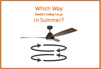 Which Direction Should A Ceiling Fan Spin In Summer