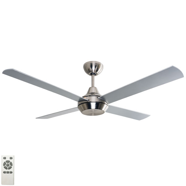 Brushed Chrome cardiff ceiling fan 52 inch