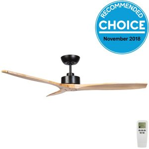 matt black natural blades wynd ceiling fans