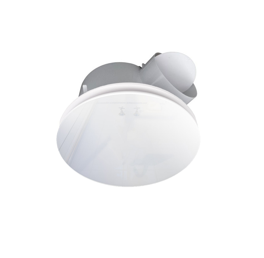 Ventair Airbus 200 Round Ceiling Exhaust Fan With Glass Cover