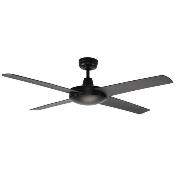 Urban 2 Black Outdoor Ceiling Fan